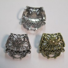 10 Pendant clip for scarf 33x32mm