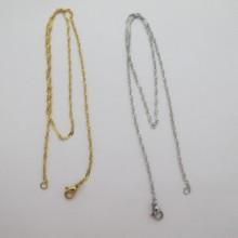colliers en acier inox 2mm 45cm/80cm
