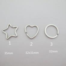 Porte-clés anneau en métal