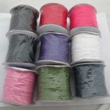 Cotton laces smooth wax 1.0mm/90mrt