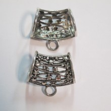 10 Pendant clip for scarf 36x33mm
