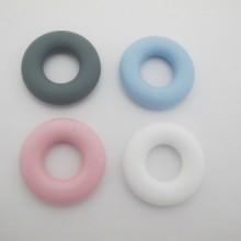 4 pcs perle en silicone anneau de dentition 50mm