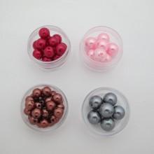 125 gm Perle ronde nacrées en plastique 8mm/10mm/12mm/20mm
