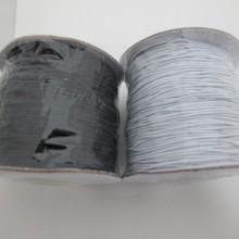 100 mts fil coton ciré élastique 0.80mm