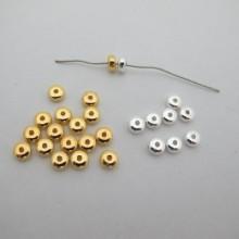 200 pcs Plastic Beads 3x6mm