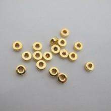 200 pcs perles en plastique 3x7mm