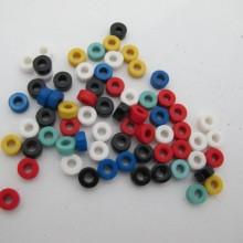 Perles en plastique 3x6mm - 83g