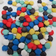 83 gm perles en plastique 12x11mm