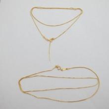 10 pcs colliers 0.8x48 cm