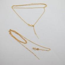 10 pcs colliers 48 cm