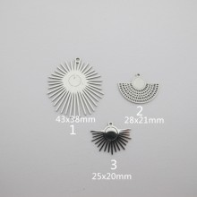 10 pcs Stainless steel pendant