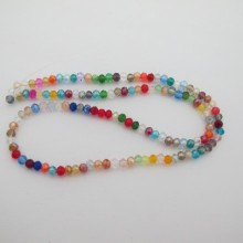 Glass faceted beads 4mm - 46cm