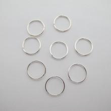 200 Single open rings 12mm