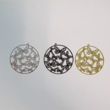 20 Butterfly laser cut stamps 35mm