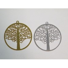 20 Tree of life stamp laser cut 40mm