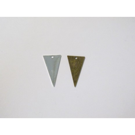 50 Sequins triangles 23x13mm