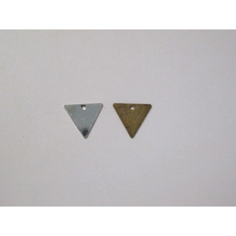50 Sequins triangles 13x12mm