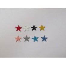 30 Tinted Star Pendant 15mm