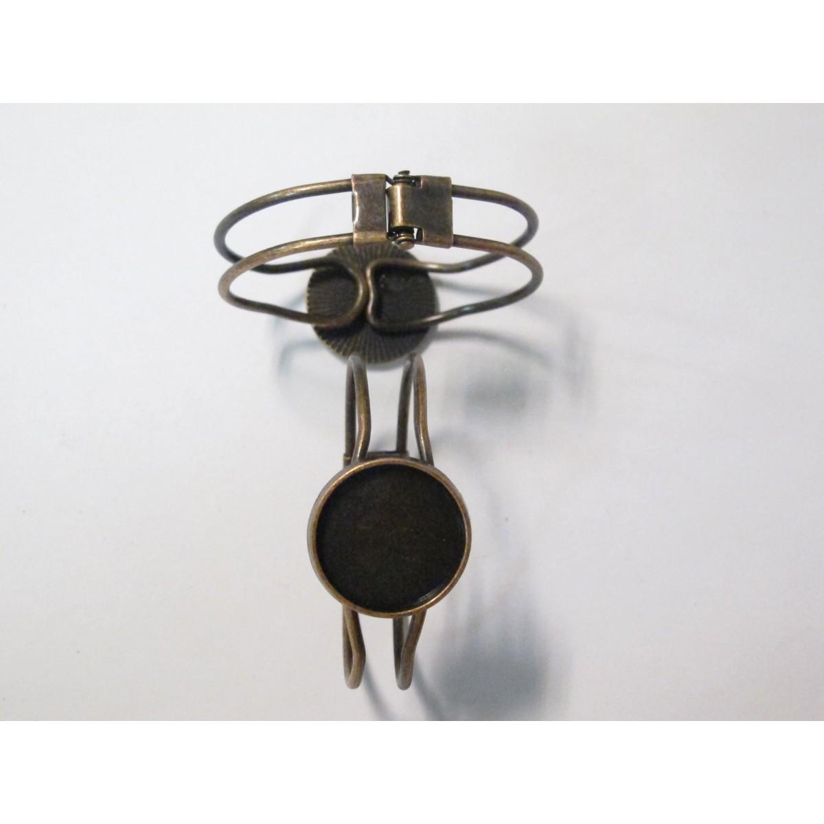 100% de qualité dernière collection belle couleur Vente 5 Support Bracelet en Métal cuivre pour