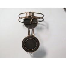 5 Copper Metal Bracelet Holder for 25mm round cabochons