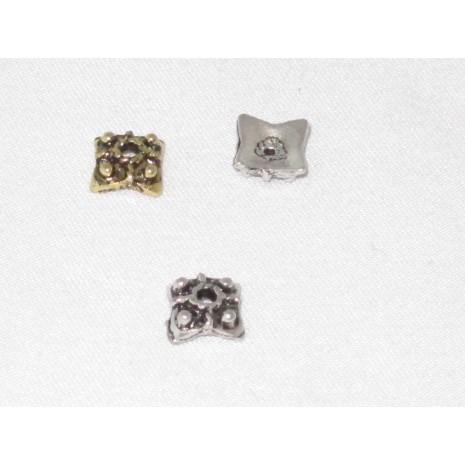 100 Coupelles carrés 8x8mm