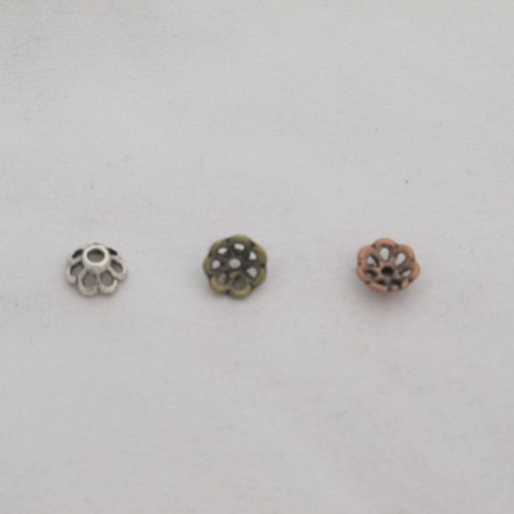 100 Coupelles 8x4mm