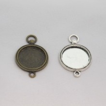 50 Support intercalaire cabochon 20 mm