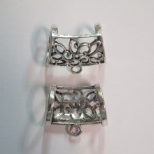 10 Pendant clip for scarf 32x27mm