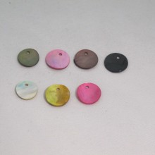 100 Sequins  Nacre 13mm