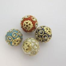 10 Handmade beads 20mm
