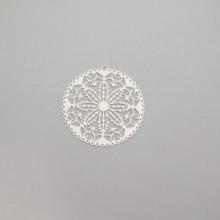 50 Round laser cut stamps 30mm