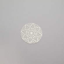 50 Round laser cut stamps 26mm