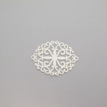 50 Estampes intercalaires laser cut 30x23mm