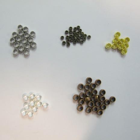 1000 pieces Perle à écraser