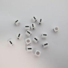 500gm cube en plastique 7mm lettres I