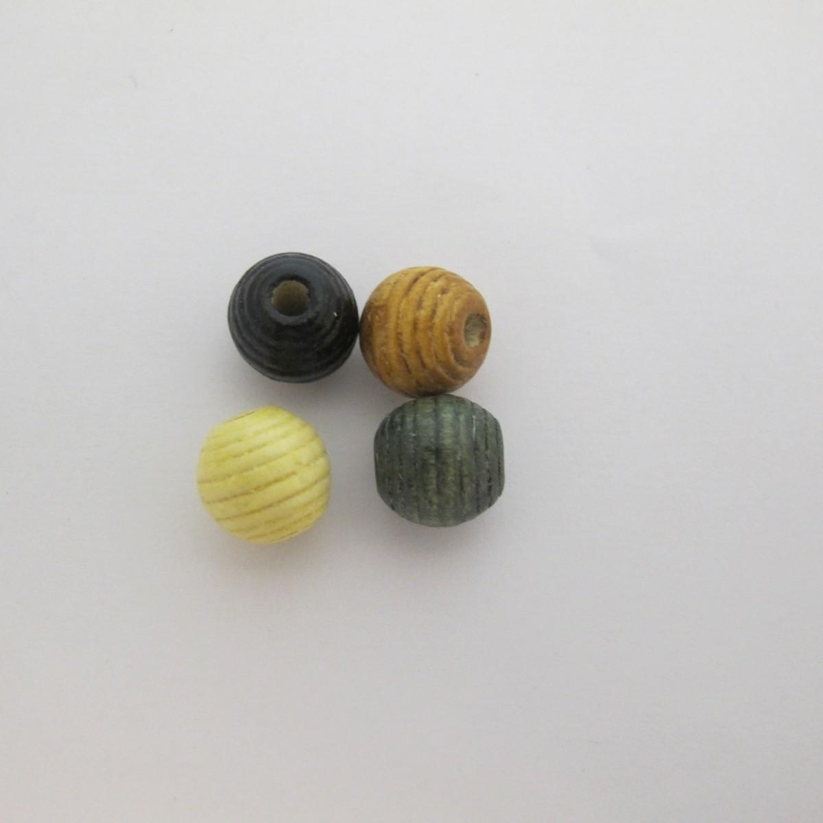 Vente 100 perles rondes bois 12mm en gros for Vente bois flotte gros