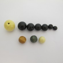Perles rondes bois 10mm/ 12mm14mm/16mm/18mm/20mm/25mm