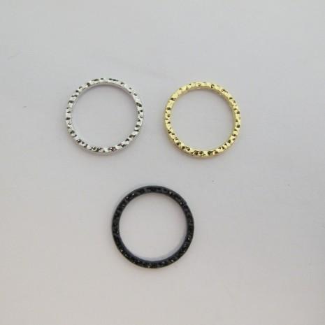 50 aneaux intercalaire fermé 19mm