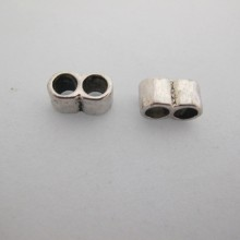 20 Intercalaires metal 2 trous 15x8mm