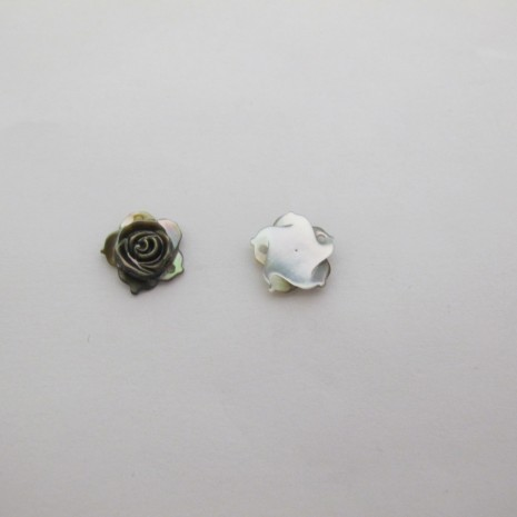 24 Intercalaires Roses 2 trou 11mm