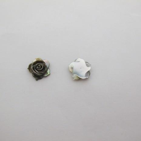 24 Intercalaires Roses 2 trou 11mm