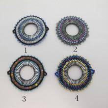 Intercalaire tissage perles Miyuki 44x41mm