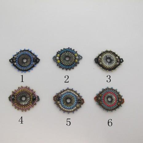 Intercalaire tissage perles Miyuki 31x26mm