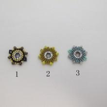 Intercalaire tissage perles Miyuki 21mm