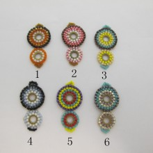 Intercalaire tissage perles Miyuki 33x17mm
