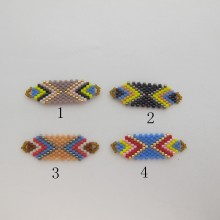 Intercalaire tissage perles Miyuki 36x12mm