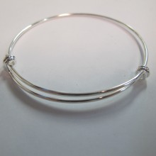 Bracelet  Ø60mm fil 2.0mm