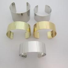 Bracelet jonc plat 25mm/35mm/50mm