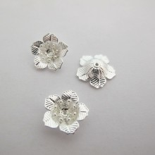20 Intercalaires Fleurs 17x5mm