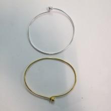 12 pcs Bracelet boule à viser 65x50 mm